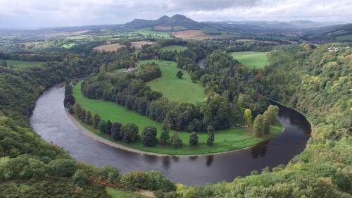 River Landscape in Scotland