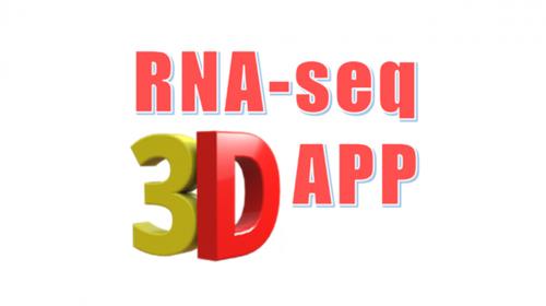 RNA-seq 3D app logo